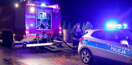 Tragedia w Gorzycach. Mężczyzna podpalił się przed blokiem