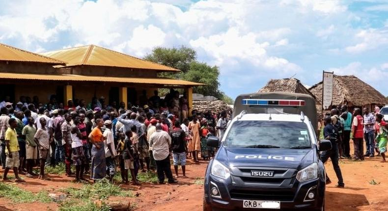 File image of a police vehicle during arrest. EACC arrests 3 Homa Bay County officials over lost Sh150 million
