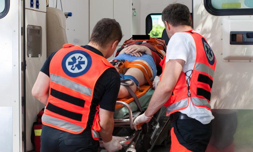 Strajk ratowników medycznych na Mazowszu.