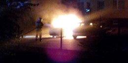 BMW spłonęło w centrum Opola. To podpalenie!