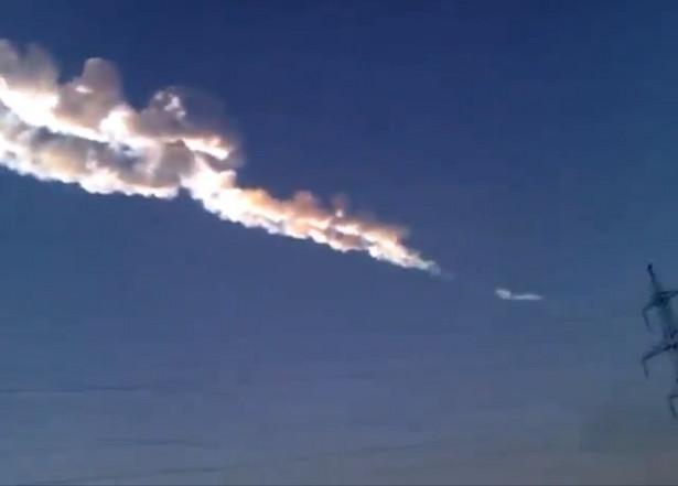 Meteoryty spadające na Ural