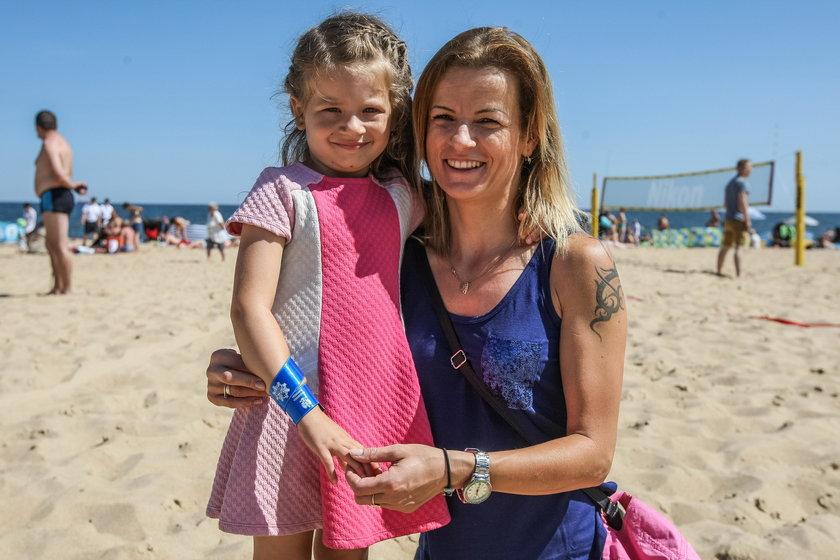 Magdalena Sienkiewicz (32 l.) z córką Kasią (5 l.)
