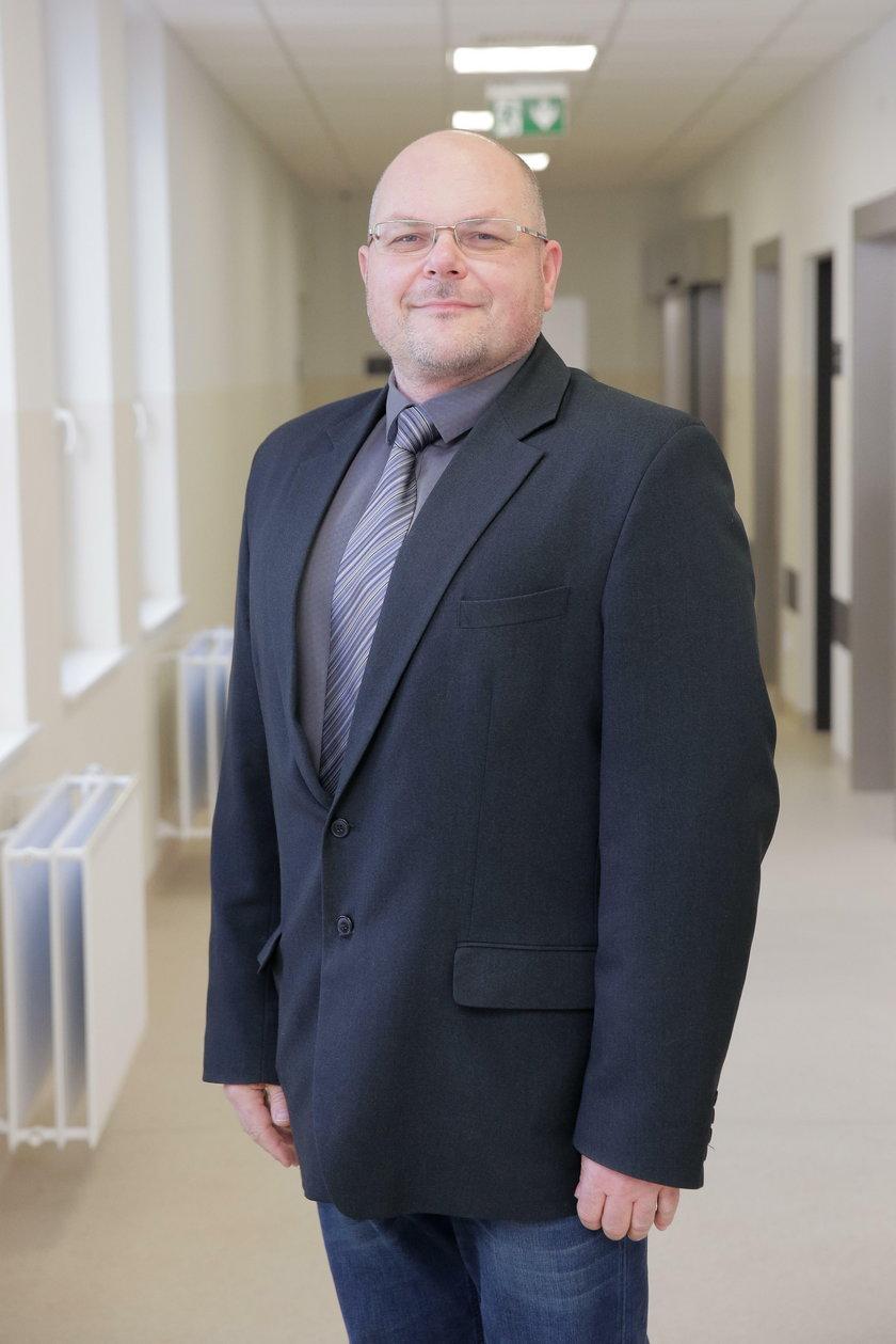 Jan Mularczyk (47 l.), dyrektor ds. administracyjnych
