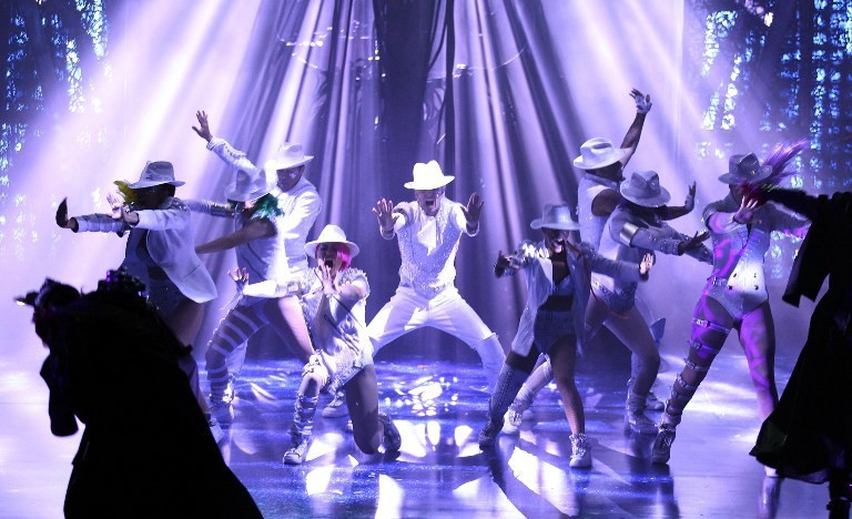 "4. Cirque du Soleil – ""Michael Jackson: The Immortal"""
