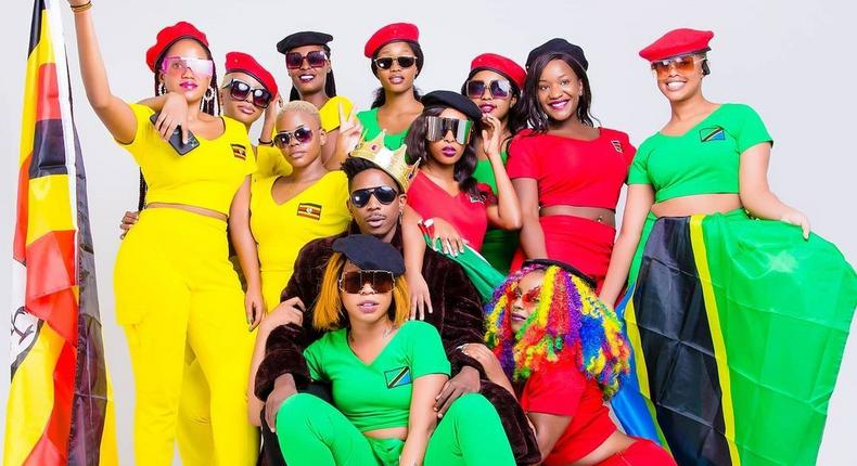 Eric Omondi and Wife Material contestants