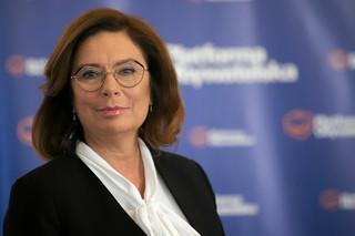 Kidawa-Błońska: Bardzo chciałabym, aby Tusk wrócił do PO tak na 100 proc.