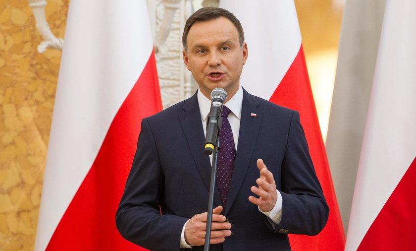 Andrzej Duda ma powody do zadowolenia