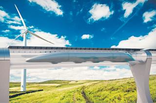 Hyperloopem na samolot z Baranowa