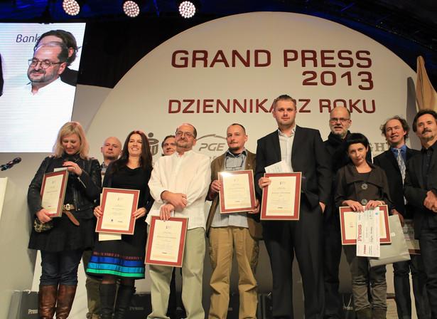 Laureaci Grand Press 2013