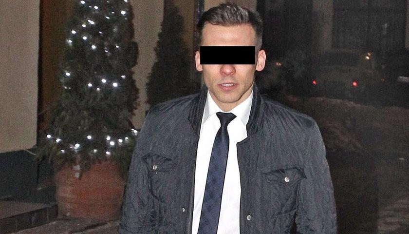 Łukasz N., kelner zamieszany w aferę podsłuchową