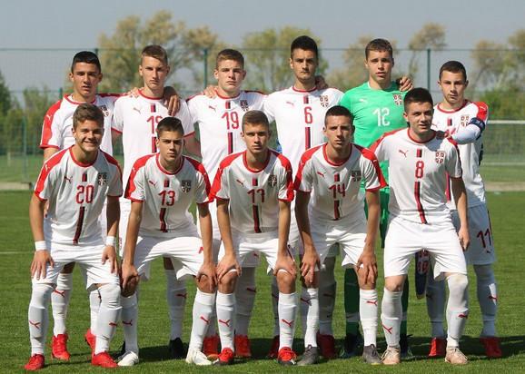 Mlađa kadetska fudbalska reprezentacija Srbije