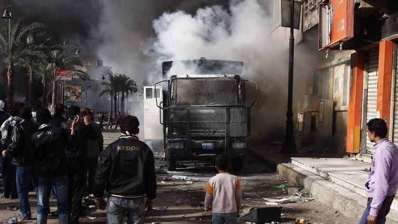 Zamknięto giełdę w Kairze