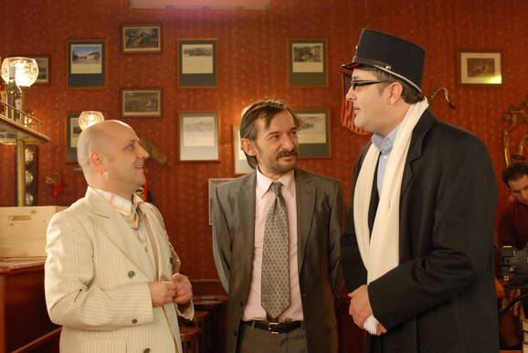Vušović je do suza zasmejavao publiku ulogom Gazde u popularnoj serji