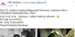 """Paranoja. Słowo """"brzoza"""" na cenzurowanym w TVP Kultura"""