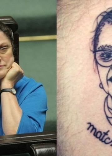 Krystyna Pawłowicz Tatuaż Noizz
