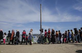 Grecja: Ponad 1000 migrantów opuściło obóz. Chcą dostać się do Macedonii alternatywną trasą