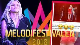 Margaret z gołymi pośladkami wywalczy finał szwedzkich eliminacji do Eurowizji?