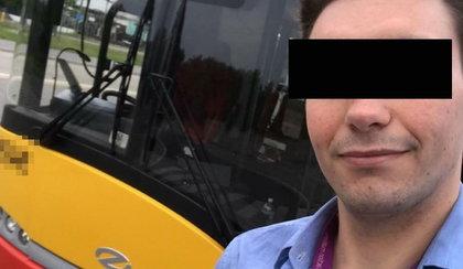 Naćpany kierowca rozbił kolejny autobus w stolicy. Nowe fakty