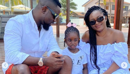 Sarkodie and his family