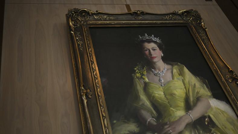 Portret królowej Elżbiety II