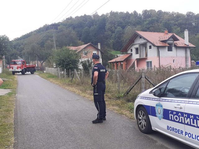 Avion pao u okolini Loznice
