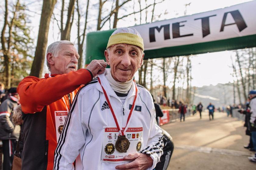 83-letni Polak wygrał maraton