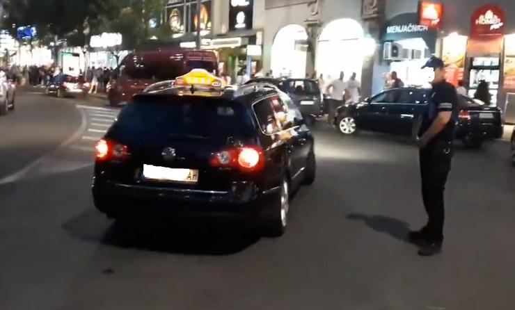 Divlji taksista