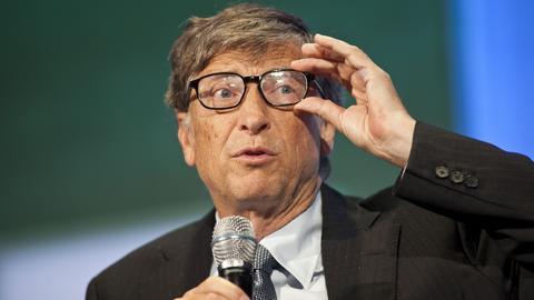 Bill Gates, miliarder, filantrop, współzałożyciel i były prezes firmy Microsoft