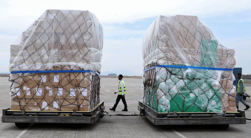 Jack Ma to the rescue: Millions of face masks and coronavirus detection kits finally arrive in Africa