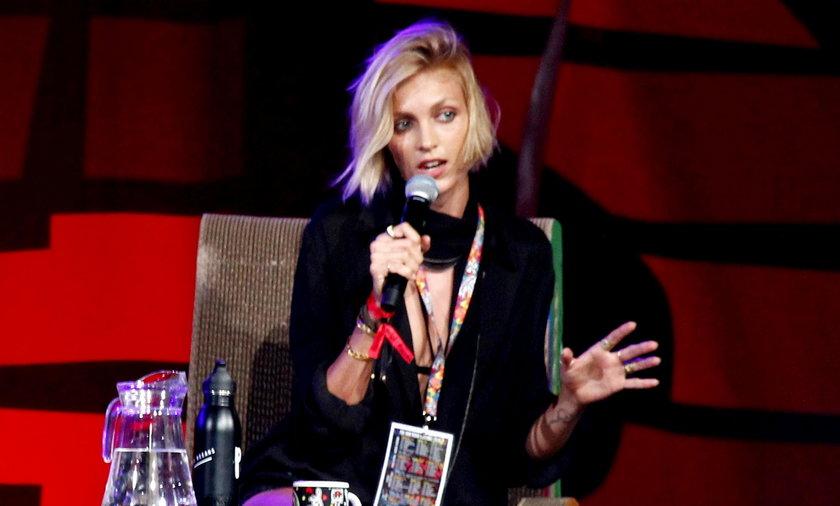 Anja Rubik na festiwalu Pol'And'Rock