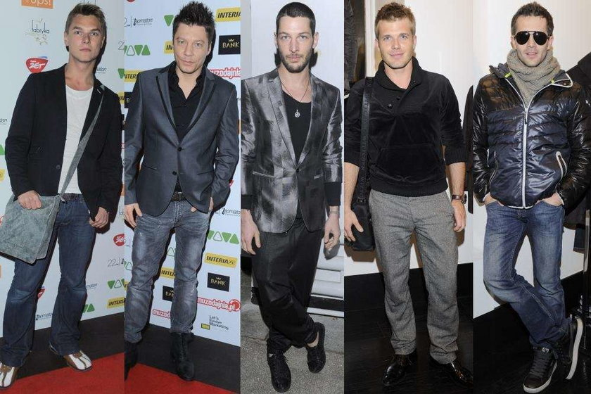 Trendy w modzie męskiej 2012