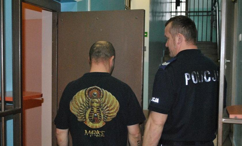 Aresztowany za uwięzienie kurator sądowej