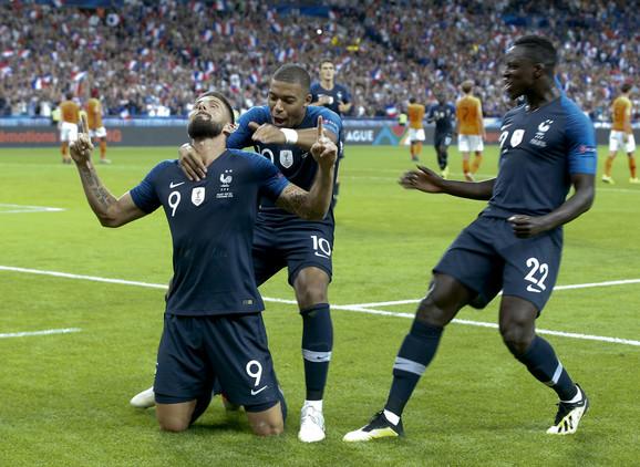 Francuzi su remizirali sa Nemcima, ali su pobedili Holandiju