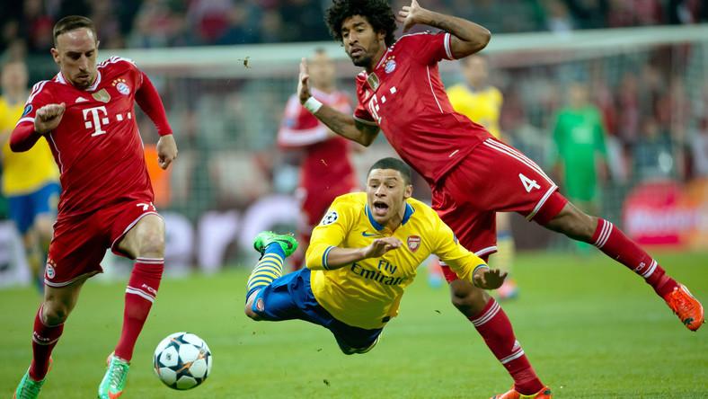 Franck Ribery, Dante i Alex Oxlade-Chamberlain