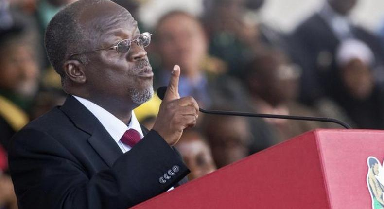 """Tanzanian President John Pombe Magufuli asks ministers to smoke weed to """"toughen up"""
