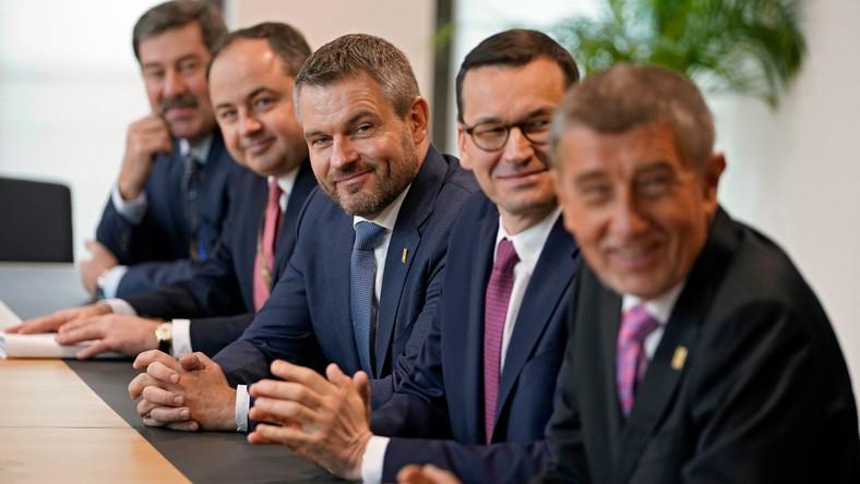 premier Mateusz Morawiecki na szczycie w Brukseli