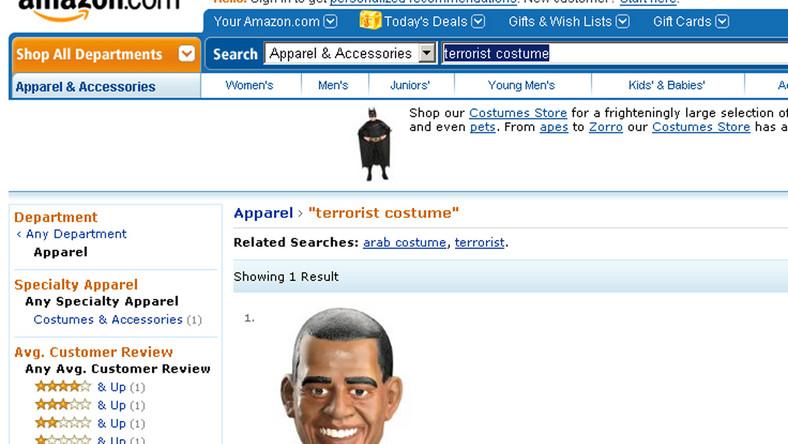 Amazon: Barack Obama to terrorysta