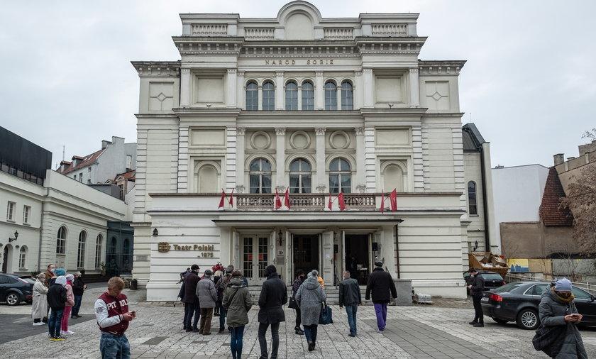 Skandal w Teatrze Polskim w Poznaniu.