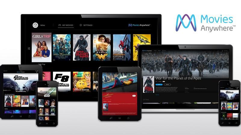 Disney'owska platforma Movies Anywhere poszerza dostępność filmów