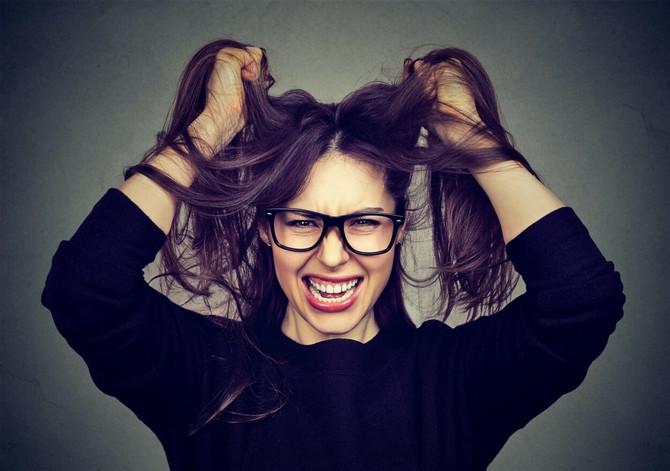Kada smo pod stresom, i naša kosa pati
