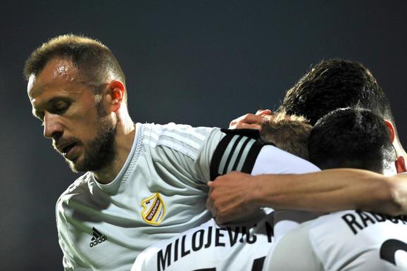 Radost fudbalera Čukaričkog