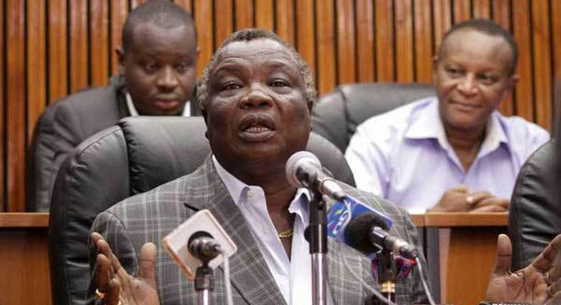 None of you will leave your houses that day – Atwoli to Khalwale's team over anti-BBI meeting