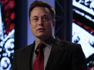 Elon Musk at the Austomotive News World Congress