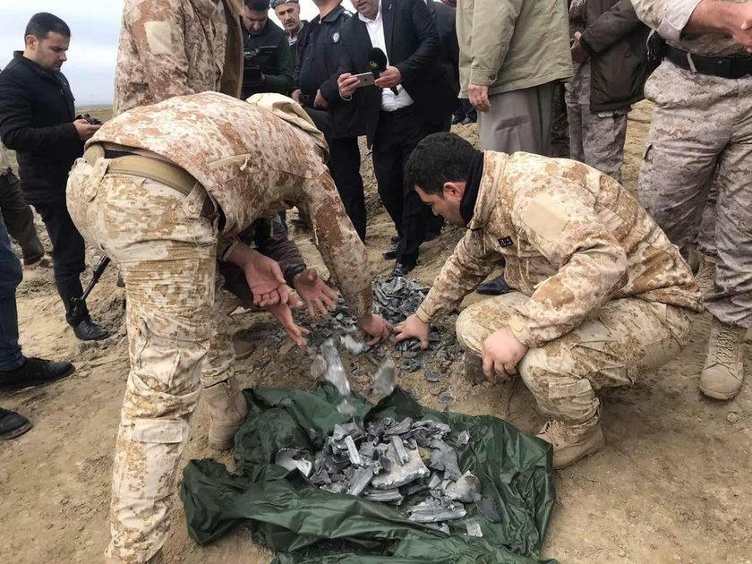 Atak rakietowy Iranu na amerykańskie bazy wojskowe