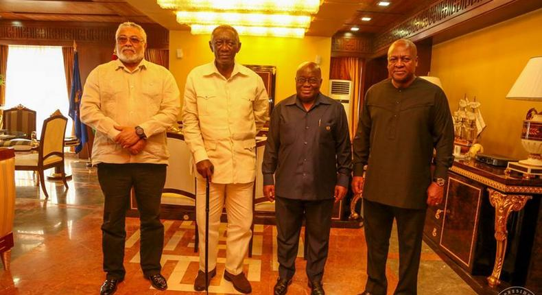 Here's how Ghanaian Presidents under the 4th republic have performed with fighting corruption