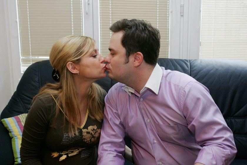 Adam Hofman z żoną Joanną
