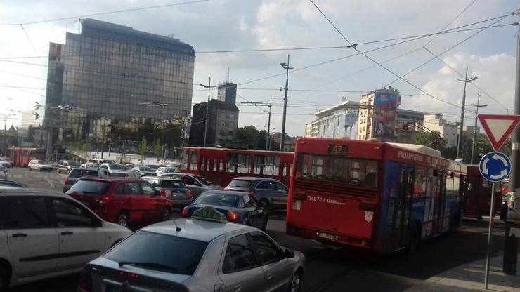 Trolejbusi na Slaviji