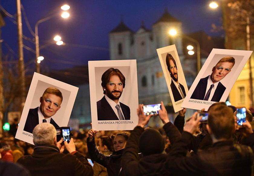 Największy protest od lat. Po śmierci dziennikarza chcą dymisji rządu