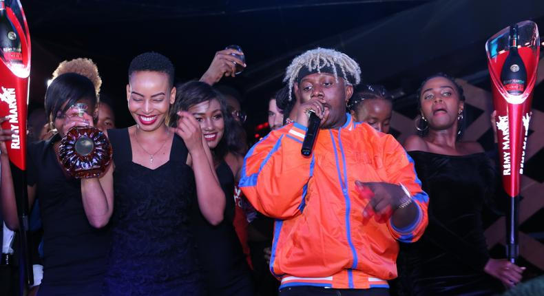 Rayvanny at the Launch of Gosip Ultra Lounge (Pulse Live Kenya)