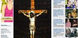Zrobił Chrystusa z tostów